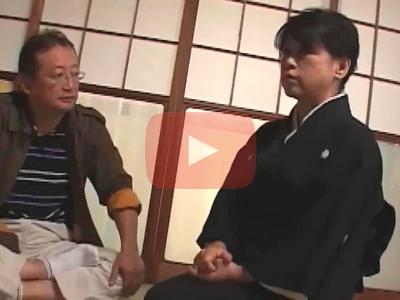 ◆レトロ☆50代のデカパイな後家さん◆喪服姿の中年女性の寝取られドラマ